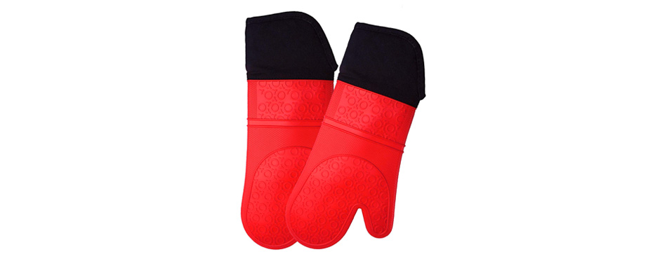 HOMWE Kitchen Oven Mitts