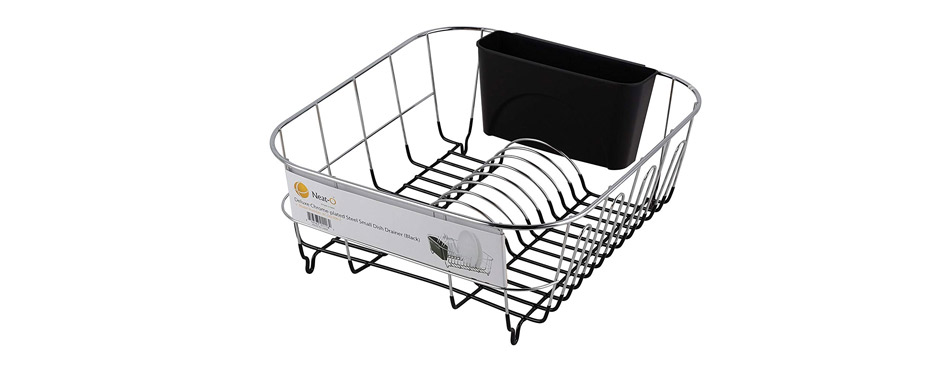 Neat-O Deluxe Steel Small Dish Drainer
