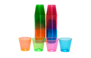 Party Essentials Plastic Shot Glasses