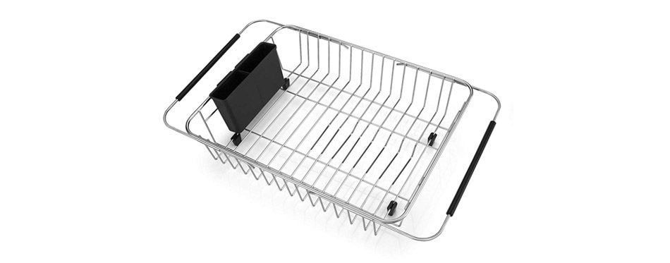 SANNO Expandable Dish Drying Rack