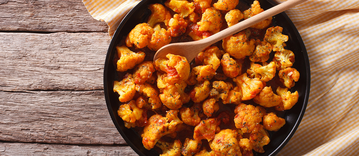 easy cauliflower curry recipe