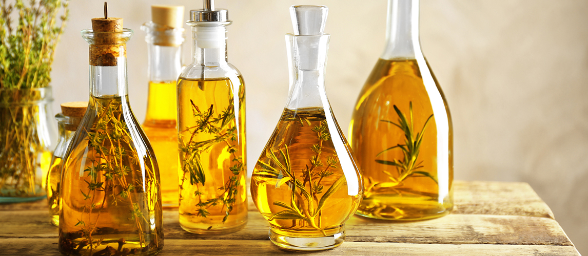 types of cooking oil and how to use them