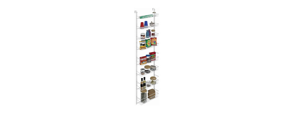 ClosetMaid Adjustable 8-Tier Wall and Door Rack