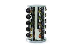 Kamenstein Revolving 20-Jar Countertop Spice Rack Tower1