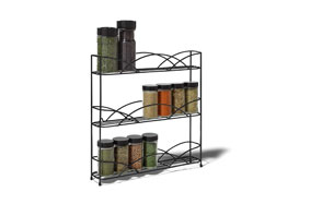 Spectrum Diversified Countertop 3-Tier Spice Rack2