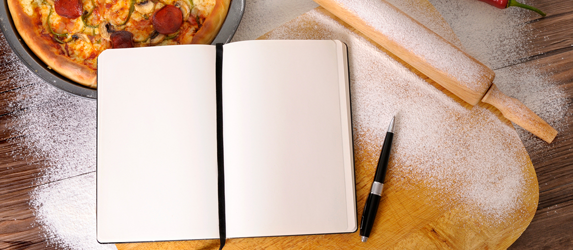 make your own cookbook how to start