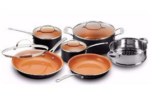 Gotham Steel Pots and Pans Copper Cookware