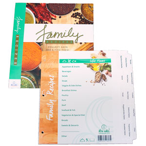 Ahh Hah! Family Recipe Organizer Kits