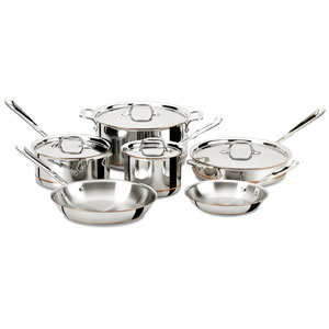 All-Clad Copper Core 5-Ply Cookware Set