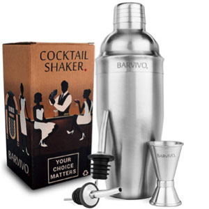 Barvivo Professional Cocktail Shaker Set