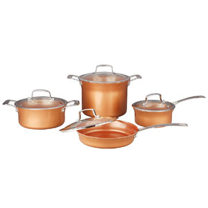Concord Cookware Ceramic Coated Copper