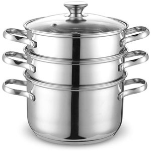 Cook N Home Double Boiler Steamer