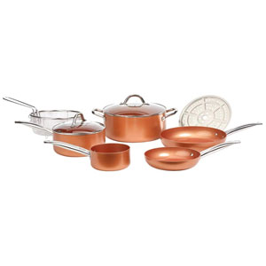 Copper Chef Cookware Round Pan Set