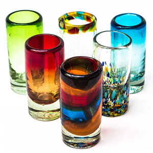 Fiesta Brands Mexican Tequila Shot Glasses