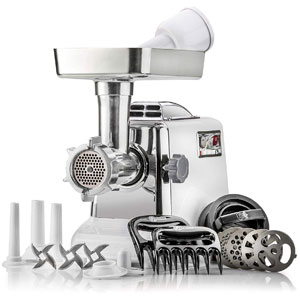 Heavy-Duty STX Megaforce Classic 3000 Series Air Cooled Electric Meat Grinder Sausage Stuffer