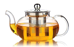 Hiware Teapot with Stainless Steel Tea Infuser