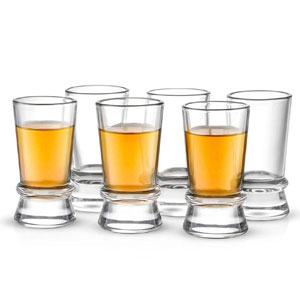 JoyJolt Heavy Base Shot Glasses