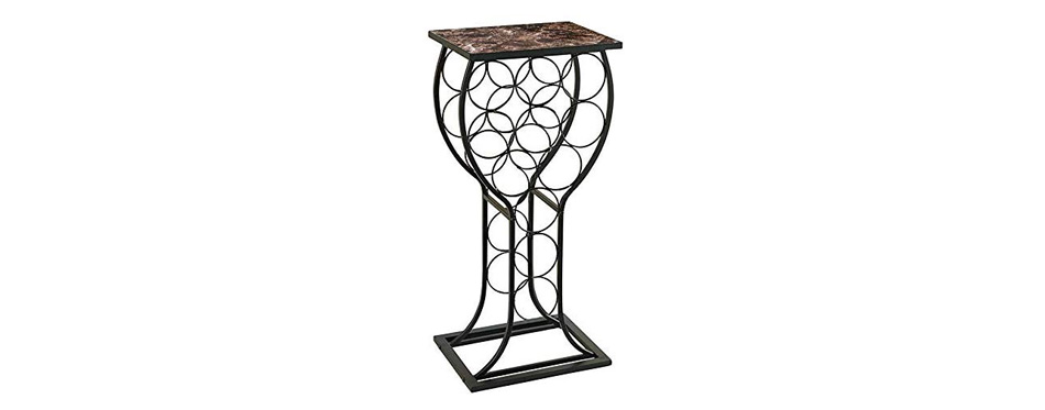 Kings Brand Furniture Wine Rack Table