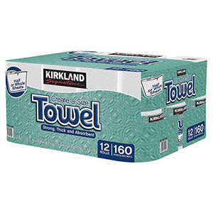 Kirkland Signature Premium Big Roll Paper Towels