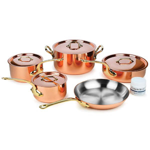 Mauviel M'heritage Copper Cookware Set