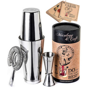 Mixology & Craft Boston Shaker Set