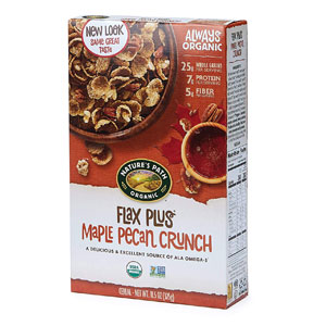 Nature's Path Flax Plus Maple Pecan Crunch Cereal