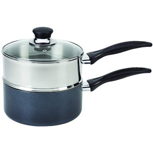 T-fal Double Boiler with Phenolic Handle