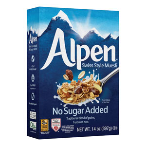 Three Sisters Alpen Muesli Cereal