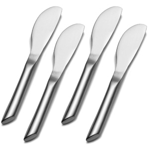 Towle Living Wave Stainless Steel Cheese Spreader