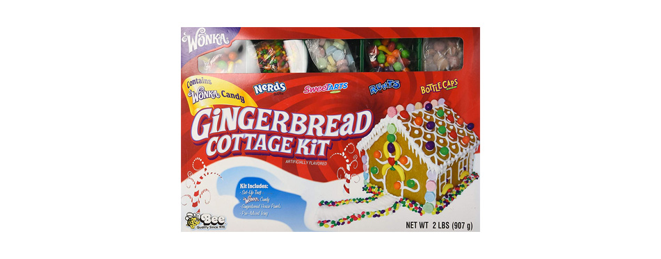 Gingerbread House Wonka Gingerbread Cottage Candy Kit