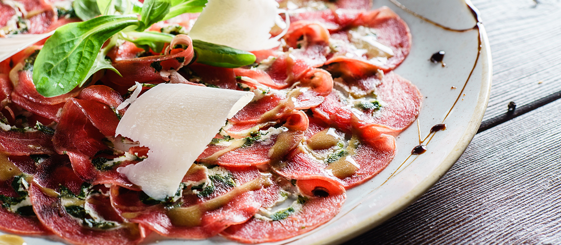 what is carpaccio and how to eat it