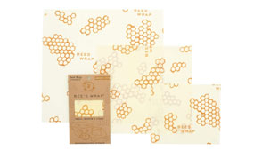 Bee's Wrap Assorted Set of 3 Beeswax Food Wraps