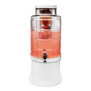 Circleware 67126 Big Window Glass Beverage Dispenser