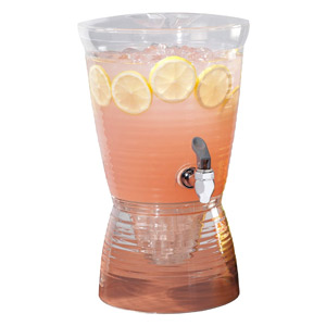 CreativeWare 1.5-Gallon Bark Beverage Dispenser