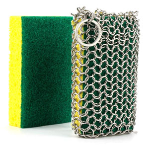 Gainwell Stainless Steel Chainmail Scrubber