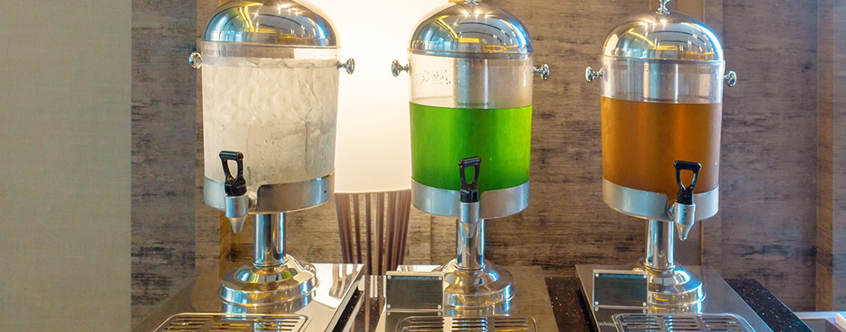 Hotel beverages dispensers