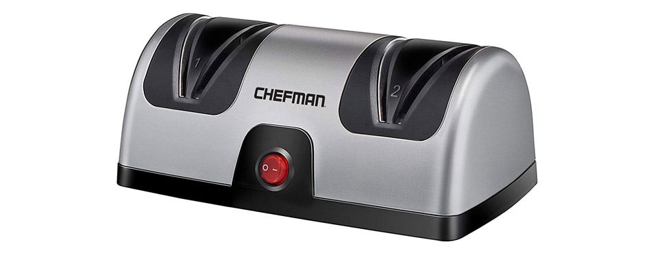 Chefman Electric Knife Sharpener to Sharpen Kitchen