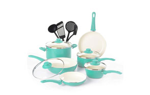 GreenLife Ceramic Cookware Set