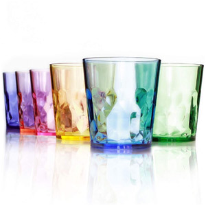 SCANDINOVIA 13 oz Unbreakable Premium Drinking Glasses Tumbler Cups