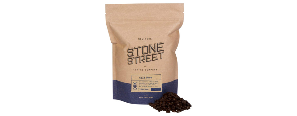 Stone Street Coffee Cold Brew Reserve Colombian Supremo Whole Bean Coffee