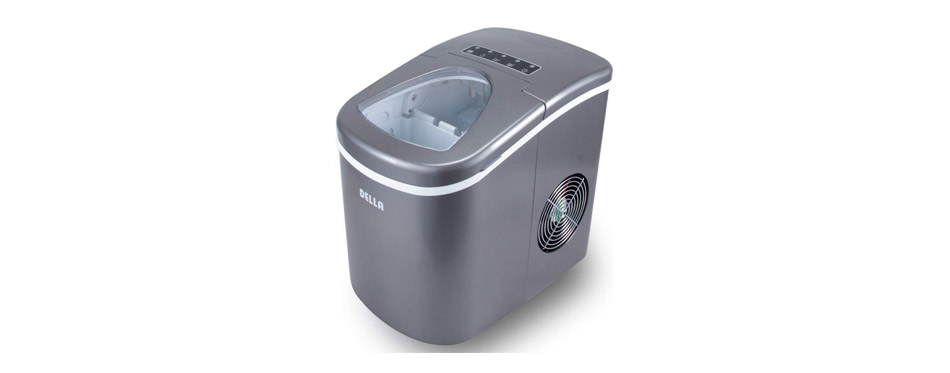 Della Portable Ice Maker w/Easy-Touch