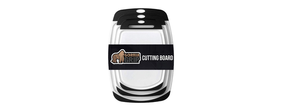 Gorilla Grip Kitchen Cutting Board