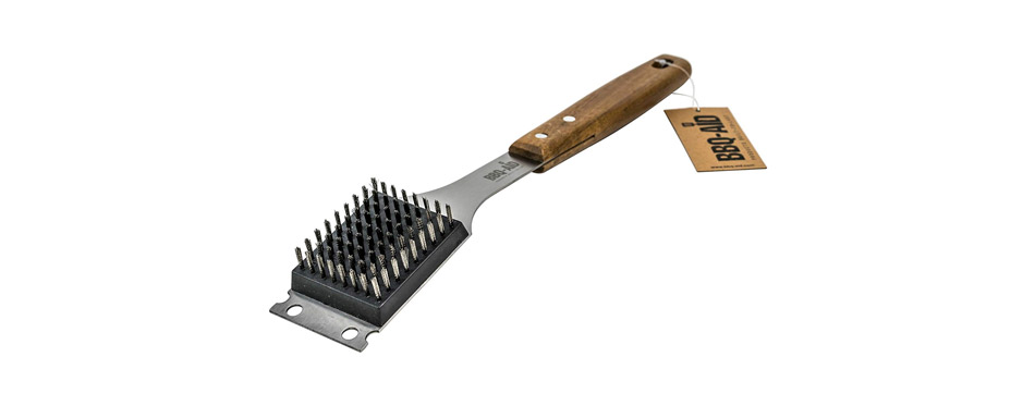 BBQ-Aid Barbecue Grill Brush and Scraper