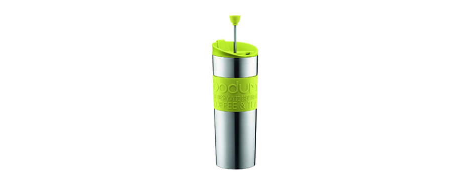 Bodum Stainless Steel Travel French Press