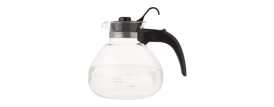 Cafe Brew Collection Glass Tea Kettle