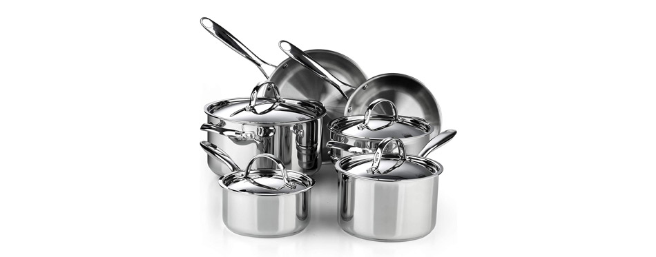 Cooks Standard 02631 Stainless Steel Cookware Set