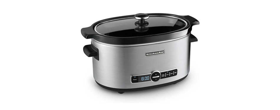 KitchenAid Slow Cooker with Standard Lid