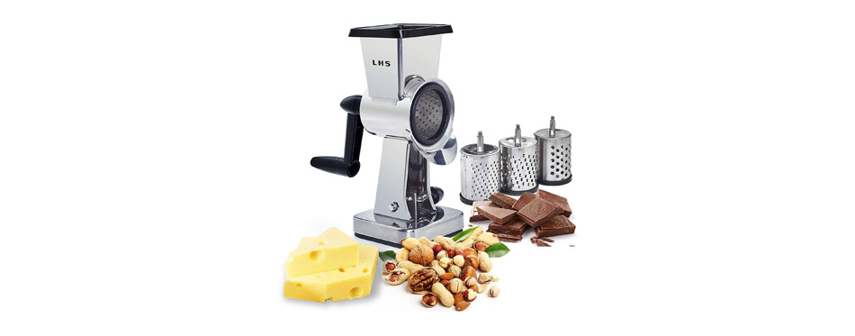 LHS Rotary Cheese Grater Stainless Steel