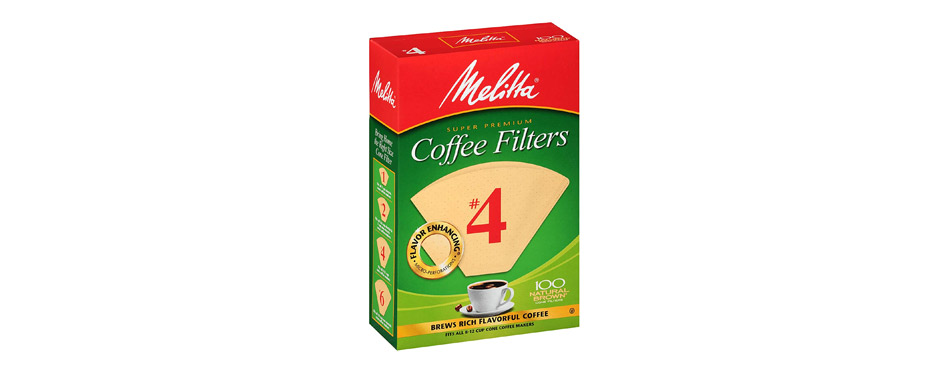 Melitta Super Premium Cone Coffee Filters