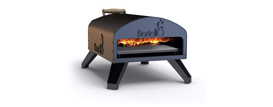 Napoli by Bertello Wood Fire and Gas Outdoor Pizza Oven